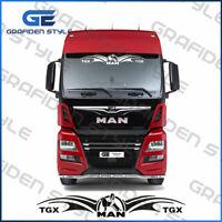 1 Stück MAN TGX DAME - LKW Windschutzscheibe Aufkleber-Sticker/Decal - B 115cm !
