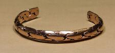 Armspange Armreif aus Kupfer glatt geknotet Neu und ungetragen