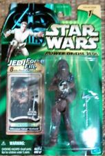 Star Wars Power Of The Jedi Chewbacca Mint on Card with Jedi Force File