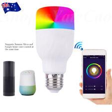 WiFi Remote Control Smart LED Bulb E27/E26 B22 RGBW Light For Alexa Google Home