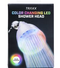 New TikTok Traxx Color Changing Led Shower Head Powered by Running Water