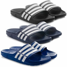 Scarpe da uomo blu adidas in gomma