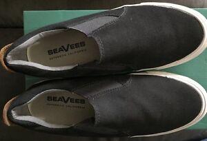 New NIB SeaVees 05/66 Hawthorne Slip On Ink Black Men's 7.5 Medium