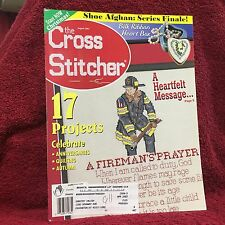 The Cross Stitcher Magazine Back Issue August 2002 Stitching Craft Used