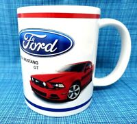 Ford Coffee Cup - Red 2014 Mustang GT - Coffee Mug         FCC003