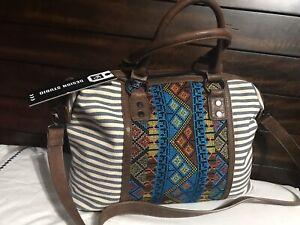 """MMS Design Studio Handbag, Shoulderbag """"Cartera De Mujer Bolso Multi Color"""""""