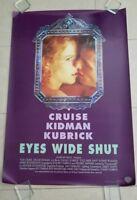 Eyes Wide Shut movie poster  -  Tom Cruise, Nicole Kidman (Original Advance 1SH)