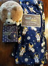 New Space corgi blanket headphones round plush stuffed animal lot set cosplay