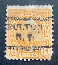 Sc # 638 ~ 6 cent James Garfield Issue, Precancel, FULTON N.Y. (bd5)