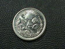 AUSTRALIA     5  Cents    1991     ECHIDNA