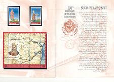 Moldova - Stamps & Souvenir Sheet 2004 MNH** Stefan cel Mare