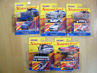 Matchbox 2020 Superfast Welle A komplett 5 Modelle Mercedes 6*6 VW T1 Dodge USA