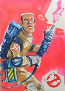 Cryptozoic GHOSTBUSTERS 1/1 Artist Sketch Card WINSTON ZEDDEMORE by Boatwright