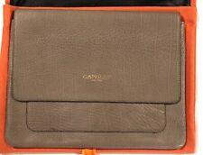 Capulet London Light Tan Leather iPad Kindle Clutch & Dust Cover 2 Pockets LBB76