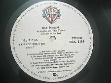 ROD STEWART A NIGHT ON THE TOWN RARE LP record vinyl INDIA INDIAN 183 VG-