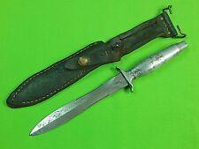 US 1976 GERBER MK2 Commando Fighting Knife #48922 & Sheath