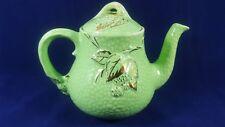 "Teapot"" Wade"" emerald gold ."
