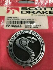 """1969 1970 SHELBY STEERING WHEEL EMBLEM """"SHELBY COBRA"""" #C9MS-3649-A #69-17716 NEW"""