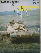 Revista combate nº 3 born in battle Israel's nuevos Merkava tanques MBT IDF Tank