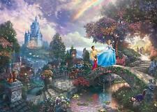 NEW! Schmidt Cinderella by Thomas Kinkade 1000 piece disney jigsaw puzzle