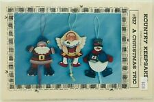 New ListingSandi Strecker Christmas Tole Painting Pattern Packet A Christmas Trio #527