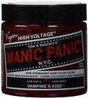 Manic Panic Classic Cream Vampire's Kiss Semi-Permanent Hair Dye, Red 4 oz