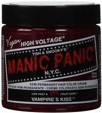 Manic Panic Classic Cream Vampire's Kiss Semi-Permanent Hair Dye, Red 4 oz