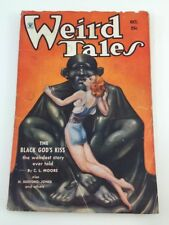 Weird Tale October,1934 Robert E.Howard Conan Black God's Kiss