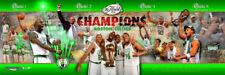 Rare BOSTON CELTICS 2008 NBA CHAMPIONS Premium Photoramic Collage POSTER Print