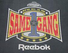 XL * vtg 90s 1990 WE'RE ALL IN THE SAME GANG rap t shirt * dr dre * 94.18
