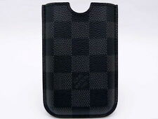 AUTHENTIC LOUIS VUITTON PARIS AUTHENTIC DAMIER GRAPHITE IPHONE CASE