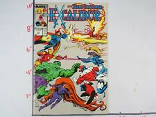 Vintage Collectible Marvel Comics Excalibur NOV #14 Bagged & Boarded NM+