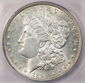 1894-P 1894 Morgan Silver Dollar ICG AU58 Details Still lustrous and flashy!