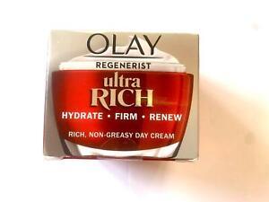Olay Regenerist ULTRA RICH Non-Greasy Day Cream - Hydrate - Firm - Renew - 50ml