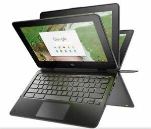 "NEW HP CHROMEBOOK X360 11 G3 11.6"" TouchScreen Celeron N4020 8GB 32GB CHROME OS"
