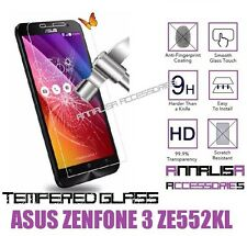 PELLICOLA VETRO TEMPERATO ASUS ZENFONE 3 ZE552KL TEMPERED GLASS SCREEN PROTECTOR