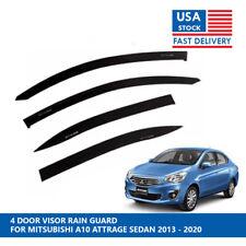 4 DR VISOR RAIN GUARD FOR MITSUBISHI A10 ATTRAGE SEDAN 2013 - 2020