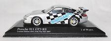 Minichamps 1/43rd Scale Porsche 911 Gt3 Rs, New York Toy Fair, 2007