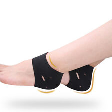Ankle Plantar Fasciitis Therapy Wrap Heel Foot Pain Arch Support Brace Insole SH
