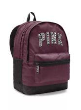 Victoria's Secret PINK Campus Backpack Burgandy/Black New