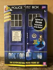 Doctor Who - The Eleven Doctors Figure Set - Made by Character
