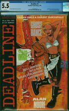 DEADLINE #4 CGC February 1989 TANK GIRL Cover Appearance UK Comics Alan Moore