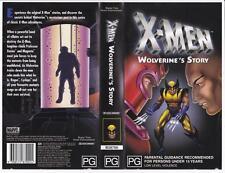 X-MEN - WOLVERINE'S STORY   *RARE VHS TAPE*.