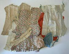 Lot of 1920s - 1930s Toddler Young Child Clothes Dresses Bonnet Socks Vintage