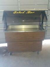 Duke Salad Bar Buffet Cold Table Ice Bath Duke W/ Sneeze Guard Portable