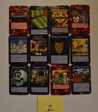 Illuminati New World Order INWO Cards Lot Of 12 1 Rare-2 Uncommon-9 Common CCG2