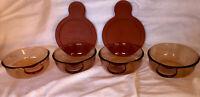 Corning Ware -Grab-it bowl - 4-V-150-B + 2 Lids- Set of 6