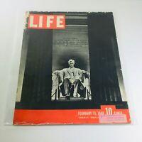VTG Life Magazines: February 11 1946 - Abraham Lincoln Memorial/Lady Astor War