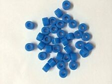50pcs Deep Blue Color Small Type Dental Silicone Instrument Color Code Rings