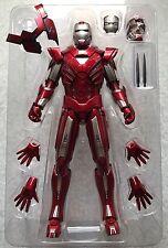 Hot Toys MMS213 IRON MAN 3 Silver Centurion Mark 33 Tony Stark 1/6 Iron man